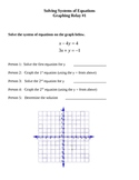 Solving Systems of Equations Relays