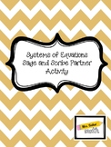 Solving Systems of Equations Sage and Scribe