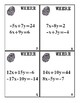 Solving Systems of Equations Using Elimination Who Dunnit Task Cards