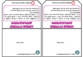 Solving Systems of Equations Word Problems Foldable and INB pages