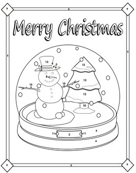 Solving Systems of Equations by Elimination - Christmas Math Activity