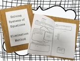 Solving Systems of Equations by Elimination Walk-Through