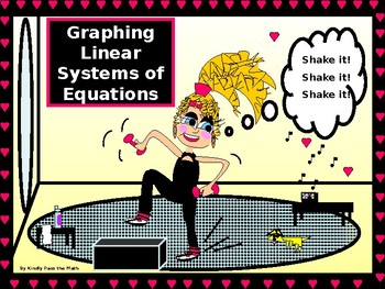Algebra Power point:  Graphing Linear Systems of Equations with GUIDED NOTES