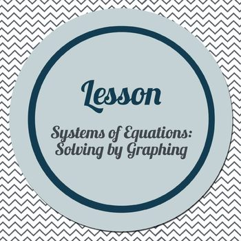 Solving Systems of Equations by Graphing (Connected Math s