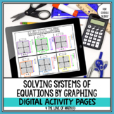 Solving Systems of Equations by Graphing Digital Pages