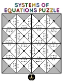 Solving Systems of Equations Puzzle