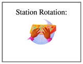 Solving Systems of Equations by Substitution Station Rotation