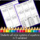 Solving Systems of Equations in 3 Variables Color-by-Number!
