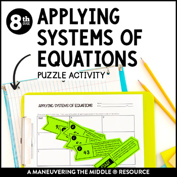 Applying Systems of Equations