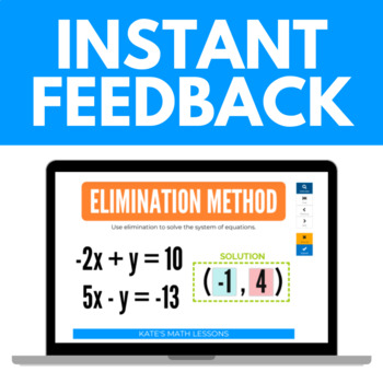 Solving Systems of Equations with Elimination Boom Cards