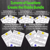 Solving Systems of Equations with Word Problems Create a R