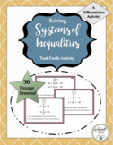 Solving Systems of Inequalities Activity