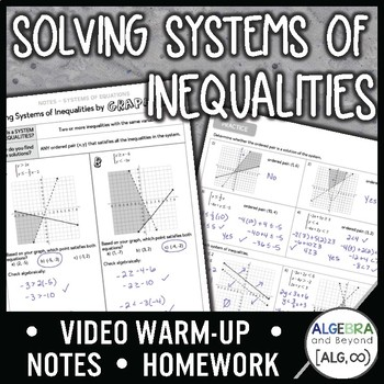 Solving Systems of Inequalities Lesson