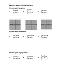 Solving Systems of Linear Equations
