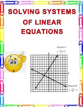 Solving Systems of Linear Equations  8.EE.C.8