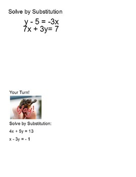 Solving Systems of Linear Equations Algebraically