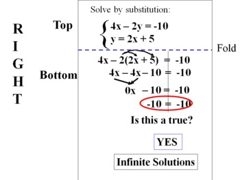 teaching system of linear equations Explore systems of linear equations, and how many solutions a system can have express systems in matrix form see how the determinant of the coefficient matrix reveals how many solutions a system of equations has also, use a draggable green point to see what it means for an (x, y) point to be a.