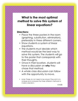 Solving Systems of Linear Equations: Pick the Best Method