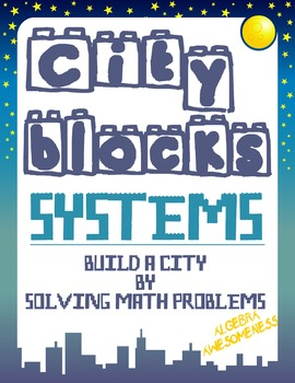 Solving Systems of Linear Equations Review Activity - City Blocks