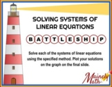 Solving Systems of Linear Equations Review BATTLESHIP