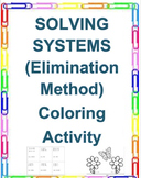 Solving Systems of Linear Equations Using the Elimination Method (8.EE.C.8)