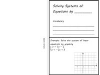 Systems of Linear Equations - Solving by Graphing