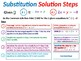 Solving Systems of Linear Equations by the Substitution Method