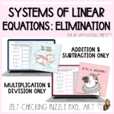 Solving Systems of Linear Equations using Elimination Digi