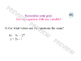 Solving Systems of Linear Equations using Substitution Les