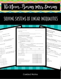 Solving Systems of Linear Inequalities by Graphing Notes