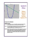 Solving Systems of Linear & Quadratic Equations Lesson Plans - Two Lesson Plans