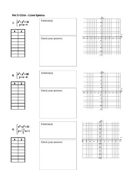 Solving Systems of Nonlinear Equations