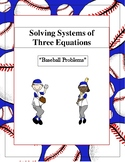 Solving Systems of Three Equations Guided Notes (2 Days Worth)