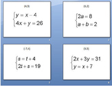 Solving Systems of linear equations around the world activity