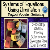 Solving Systems with Elimination Paper Chain Activity