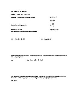 Solving Transcendental Equations