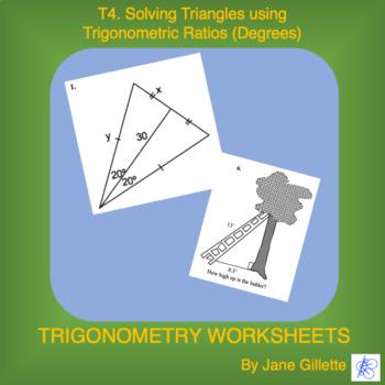 Solving Triangles using Trigonometric Ratios