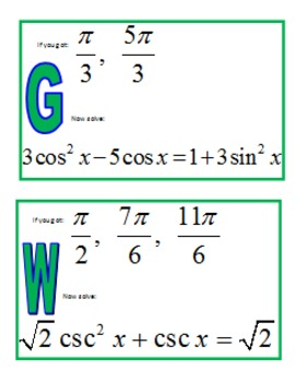 Trigonometry   Khan Academy furthermore Kindergarten Printables  Trig Ideny Worksheet  Messygracebook further Simple Trig Equations Worksheet Answers   Tessshebaylo further  also Solving Trig Equations Worksheet – Fronteirastral further  in addition  further 4 7 INVERSE TRIGONOMETRIC FUNCTIONS together with Math 1A 1B  Pre Calculus  Solving Trigonometric Equations Quadratic likewise Solved  Worksheet Trig Equations In Degrees Find The Value as well Alg Trig furthermore Trigonometric Equations Using Factoring   CK 12 Foundation likewise Solving Trig Equations Worksheet Beautiful solving Right Triangles likewise Solving Trigonometric Equations Worksheet   Checks Worksheet in addition Solving Trig Equations Scavenger Hunt by Vicki Hines   TpT together with . on solving trigonometric equations worksheet answers