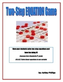 Solving Two Step Equation Bingo Game