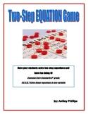 Solving Two Step Equation Bingo Game
