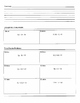 Solving Two-Step Equation Using Distributive Property - Cornell Notes(7.EE.4)