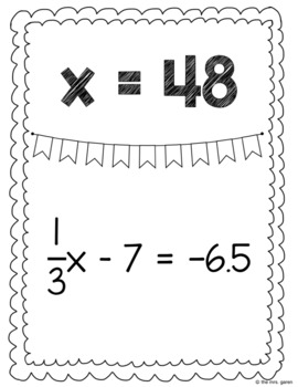 Solving Two-Step Equations Around the Room