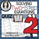 Solving Two-Step Equations BUNDLE