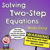 Two-Step Equations - Bundled Unit
