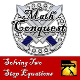 Solving Two Step Equations - Conquest Game