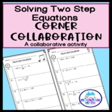 Solving Two Step Equations  Corner Collaboration
