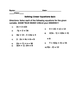 Solving Two-Step Equations (Distributive Property)