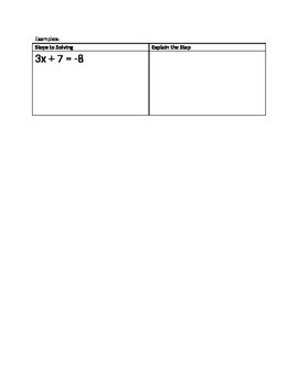 Solving Two-Step Equations Flow Map
