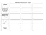 Solving Two Step Equations Graphic Organizer