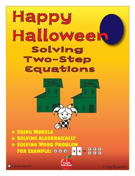 Solving Two-Step Equations Halloween